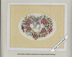 Check out Cross Stitch Heartfelt Blossoms a Vintage Cross Stitch Kit on attictreasuresbyjudy