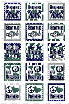 For all your scrapbooking needs. Mariners.