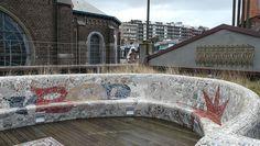 Belle Epoque Centrum Blankenberge op het dak by Stéphane ramu, via Flickr