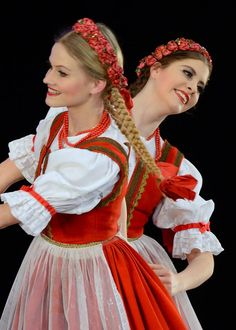"lamus-dworski: Various Polish folk dresses and dances from the repertoire of the ""Mazowsze"" Song and Dance Ensemble."