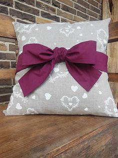 Linen pillow case by shabby.romantic / Obliečka na vankúš Christmas Dream