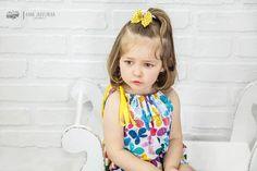 Bawełniana sukienka bombka, motylki, spinki w CASUAL NATURAL CLOTHES na DaWanda.com