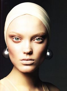 The best beauty editorials highlight not only the makeup but also the women