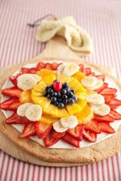 Fresh Fruit Pizza