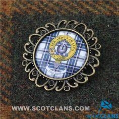Hannay Clan Crest Br