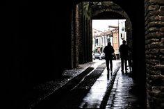 """Montagnana, Padova. 3° riScatto urbano di Davide Bombonato. Saranno conteggiati i """"mi piace"""" al seguente post: https://www.facebook.com/photo.php?fbid=10207524651738239&set=o.170517139668080&type=3&theater"""