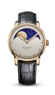 Arnold & Son HM Perpetual Moon Ref. 1GLAR.I01A.C122 in 18-carat red gold