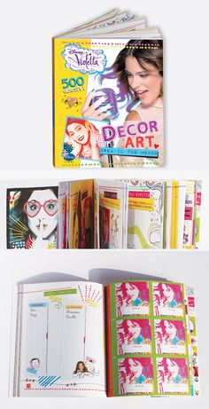 VIOLETTA DECOR ART #Book #Collection #Project and #editorial #design