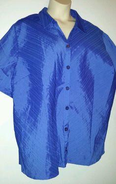 "Maggie Barnes - Woman's,  size 3x -26/28w, blouse.  ""Stylish"". #MaggieBarnes #Blouse #Casual"