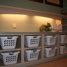 DIY Laundry Room Cabinets | Laundry room cabinets, Hanger hooks and Laundry  rooms
