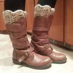 Crochet Boot Cuff by bootsNbanglesNstuff on Etsy