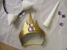DIY my little pony unicorn horn and ears