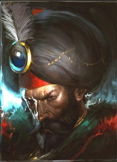 orientalismo:    Fatih Sultan Mehmet by Unkown.