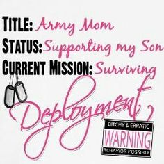 Army mom,one of the hardest things ever . I Love My Son, Just Love, Blue Star Family, Army Usa, Army Gifts, Army Quotes, Favorite Son, Army Infantry, Military Mom