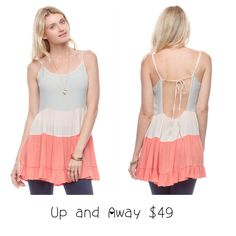 Ya Los Angeles Up and Away top. $49 at Fire Finch.