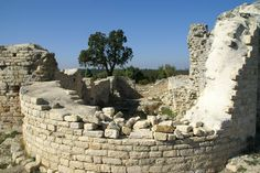 'Camp de César' Pont Du Gard, Le Site, Mount Rushmore, France, Mountains, Nature, Travel, Slate, Civilization