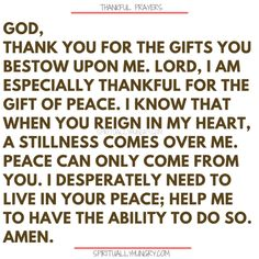 Here's a great batch of 30 thankful prayers for you. We are given so much, often times we focus on what we don't have or what we want, instead of being thankful for all that we have. These 30 short prayers will help you foster a thankful heart. Thankful Prayers, Prayers Of Gratitude, Short Prayers, Good Prayers, Thankful Heart, Thankful And Blessed, Bible Prayers, Thankful Quotes, Bible Scriptures
