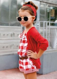 Stop for a second, and take a look at how much sass and style this little girl has!