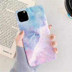 Purple Pink Marble iPhone Case - For iphone11 Pro Max / 0889 2