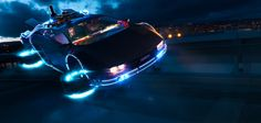 The Arrival Of DeLorean on Behance