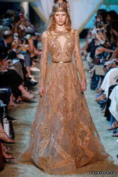 Elie Saab Haute Couture Осень-Зима 2017-2018