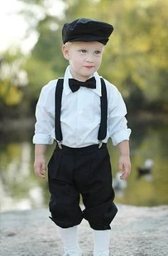 Perfect knickers outfit for my little one's uncle's wedding next month! Amazon.com $31.95