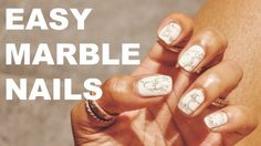 Marble Nails Tutoriel ❤️  (water marble)