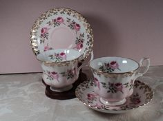 Royal Albert Country Rose in Pink Teacup by OurBarefootCottage, $29.50