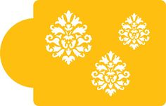 Royal Damask Icon Set | Designer Stencils