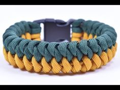 """Make the """"Mated Snake"""" Paracord Survival Bracelet - Bored Paracord - YouTube"""