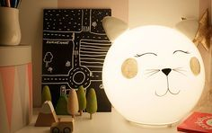 Do your own pretty kitty lamp easy and quick with IKEAs FADO lamp