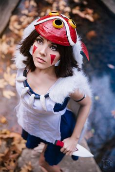 Princess Mononoke Photo taken by Zim Killgore Photography Editing by Photography By Darshelle Stevens www.darshellestevensphotography.com