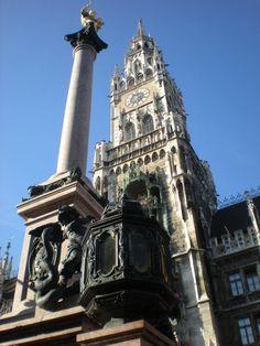 Munich, city of beer halls, I've already twirled here