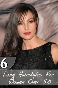 6 Long Hairstyles For Women Over 50