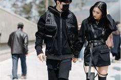 "192 Likes, 1 Comments - Tatianah Crystal (@popularkoreans) on Instagram: ""Seoul Fashion Week Couple . - ."""