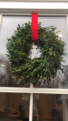 Hanging wreaths for Christmas — Mrs.