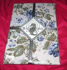 Tablecloth Rectangle Waterford NIP Jaden 60 by 84 Inches Oblong Seats 6-8 #Waterford