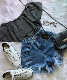 67 trendy clothes ideas for teens casual shoes Cute Summer Outfits, Cute Casual Outfits, Pretty Outfits, Stylish Outfits, Fall Outfits, Casual Clothes, Casual Shoes, Outfits 2016, Casual Jeans