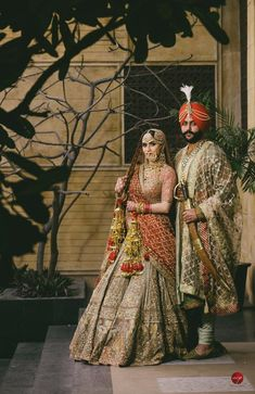 A Royal Amritsar Wedding With The Bride In A Uniquely Stunning Lehenga Royal Wedding Guests Outfits, Royal Wedding Themes, Royal Wedding Gowns, Wedding Lehnga, Muslim Wedding Dresses, Sikh Wedding, Royal Weddings, Wedding Shoot, Indian Weddings