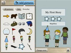 Create and share your very own illustrated stories in a few simple steps!