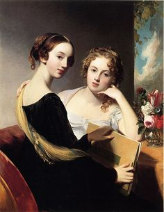 Misses Mary and Emily McEuen (Thomas Sully - 1823)