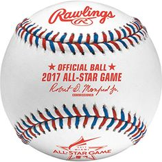 Rawlings Sporting Goods ASBB17-R MLB 2017 Official All Star Baseball in Display Cube, White - http://homerun.co.business/product/rawlings-sporting-goods-asbb17-r-mlb-2017-official-all-star-baseball-in-display-cube-white/