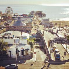 Santa Monica Pier in California. California History, California Dreamin', California Vacation, Santa Monica Pier, Coachella, Nevada, Arcade, Los Angeles Hollywood, Arizona