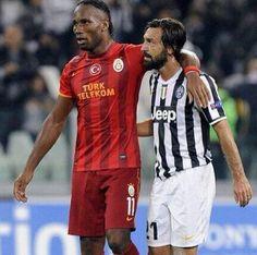 Legends Drogba & Pirlo