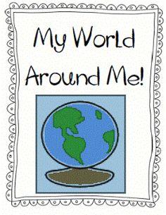 My World Around Me FREEBIE!