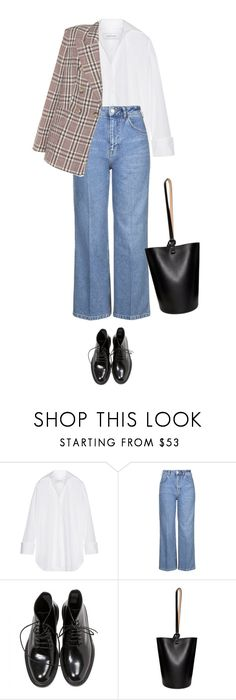 """Warsaw"" by llbo ❤ liked on Polyvore featuring Marques'Almeida, Topshop, Yves Saint Laurent, Building Block and Étoile Isabel Marant"