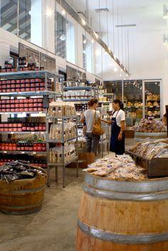 Supermarket design retail design shop interiors jones the gr Food Retail, Retail Shop, Retail Displays, Health Food Shops, Health Foods, Store Design, Design Shop, Shop Interiors, Retail Design