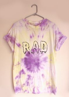 It's true, nothing is more rad than tie-dye