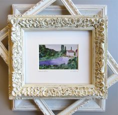 "Swede Dreams/""Lavender Fields"" watercolor painting by Swede13"