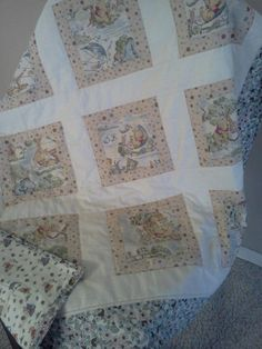 Classic Pooh baby quilt